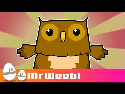 Owls Hate Simon Cowel : animated music video : MrWeebl