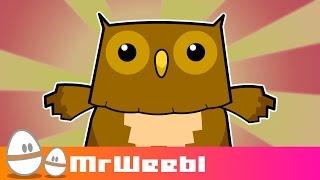 Owls Hate Simon Cowel : animated music video : MrWeebl thumbnail