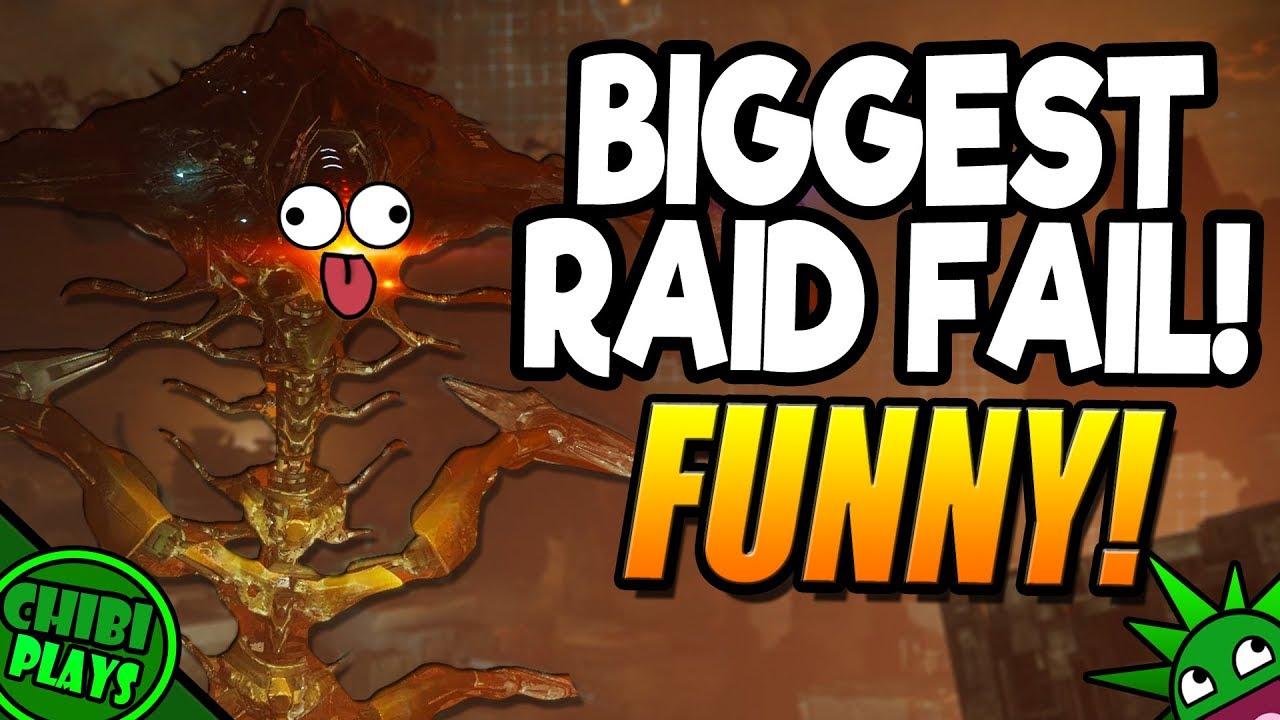 FUNNIEST RAID LAIR FAIL! Part 2 | Hilarious Destiny 2 Raid ...
