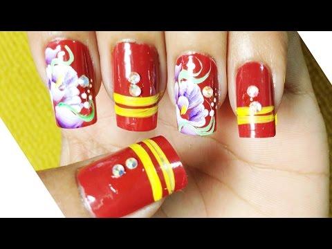Nail Art Paint Ideas – Nail Designs, Easy Ways Creative – Simple Cute Nails – Chamroeun Part #63