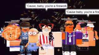 Repeat youtube video Roblox Firework | Katy Perry (Roblox Music Video)