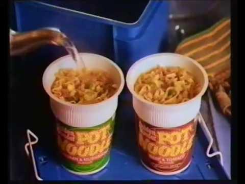 Pot noodle house Advert (OLD Adverts)