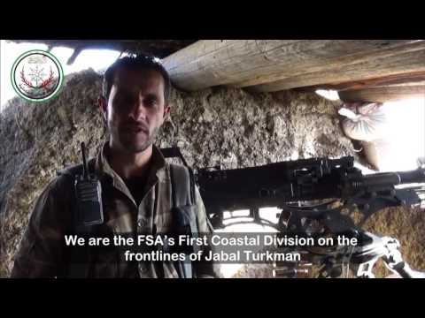Insight into FSA coordination on front lines of rural Latakia