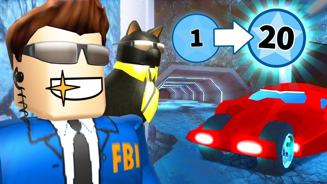Best Way To Level Up In The New Jailbreak Update Roblox Youtube