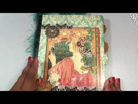 Thrifty penny & scraps collab #4 w/Poetspice