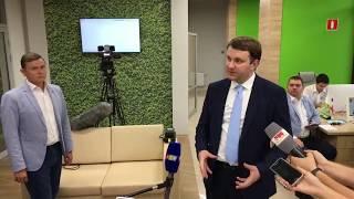 Брифинг министра Максима Орешкина в Крыму