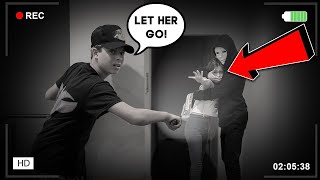 WE FOUND THE STALKER IN OUR NEW HOUSE... **CAUGHT ON CAMERA** | Gavin Magnus