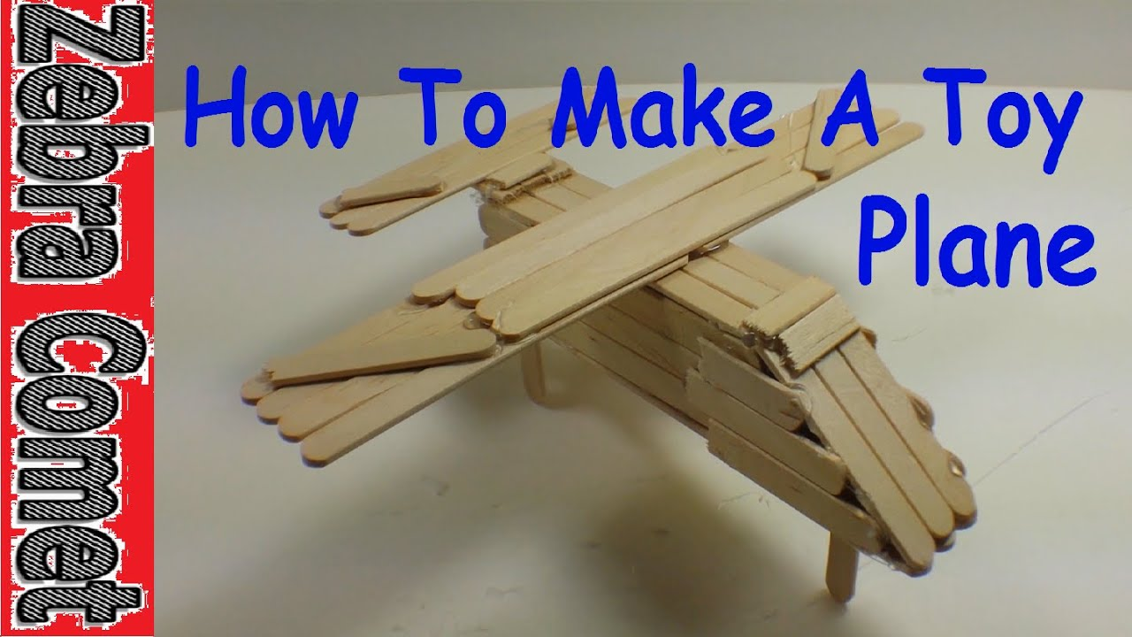 Download How To Make A Toy Plane (Simple and Easy!)