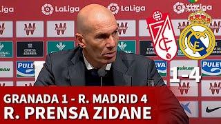 GRANADA 1 vs REAL MADRID 4 | ZIDANE, rueda prensa: VAR, OPCIONES LIGA, MARCELO... | DIARIO AS