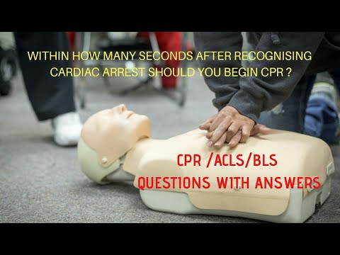 CPR/ACLS / BLS / Questions With Answers Useful For Certification / DEFIBRILLATOR And CPR