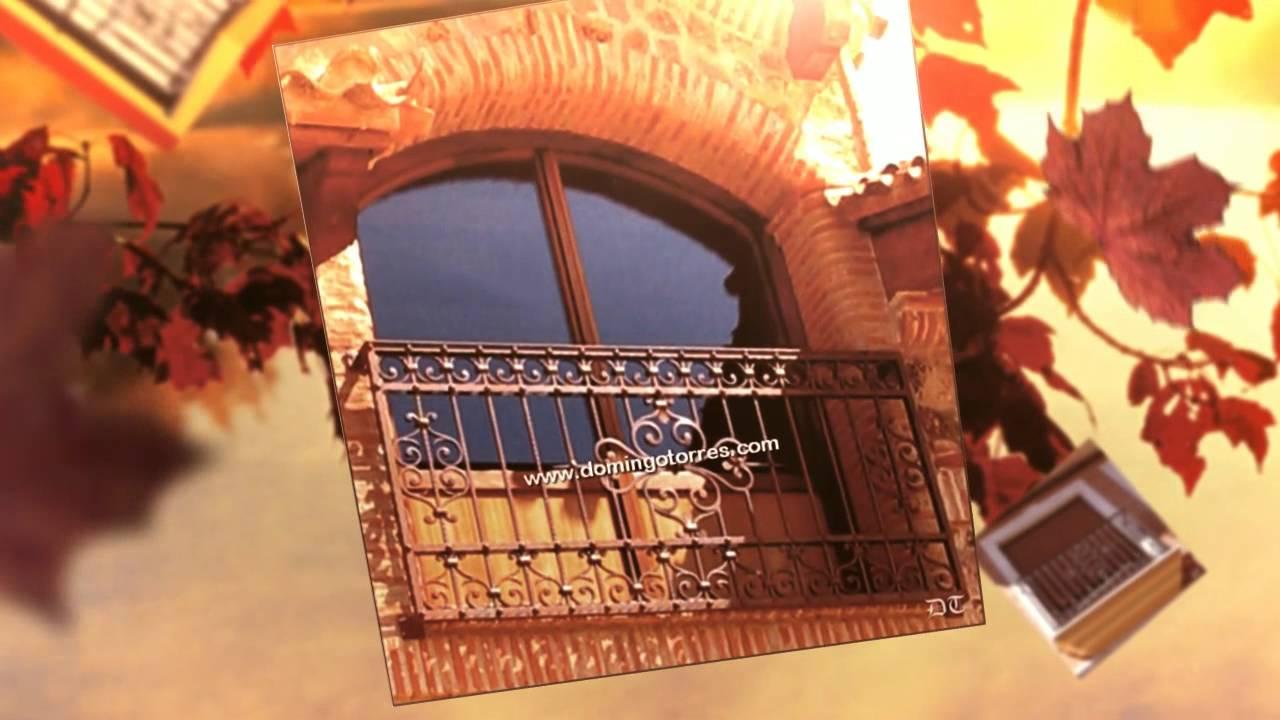 Ejemplos de balcones forja domingo torres s l youtube - Forja domingo torres ...