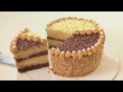 """Старый рецепт торта """"ДЕНЬ И НОЧЬ"""" ) Cake """"Day And Night"""" Успешный кондитер."""