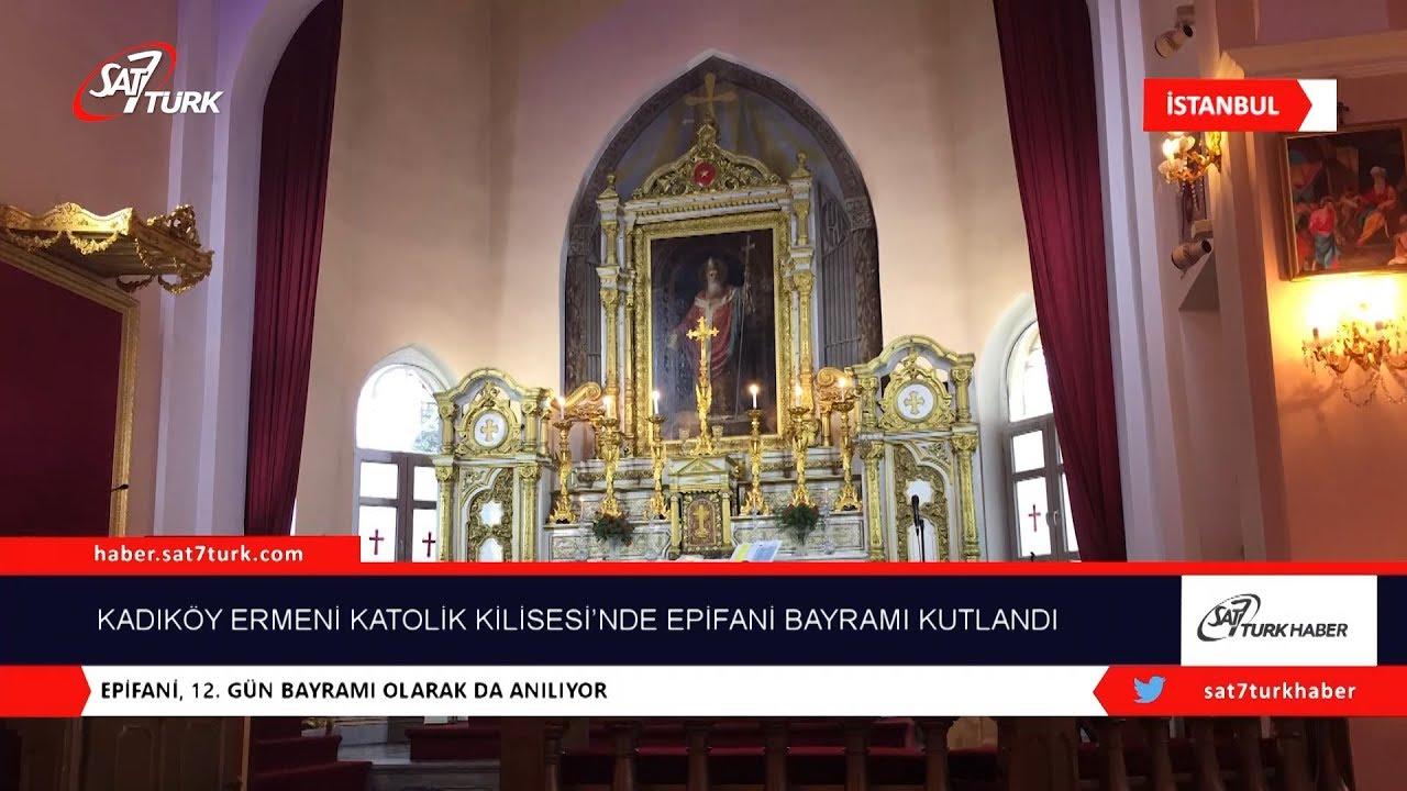 Kadıköy Surp Levon Ermeni Katolik Kilisesi'nde Epifani Bayramı Kutlandı    11 01 2019