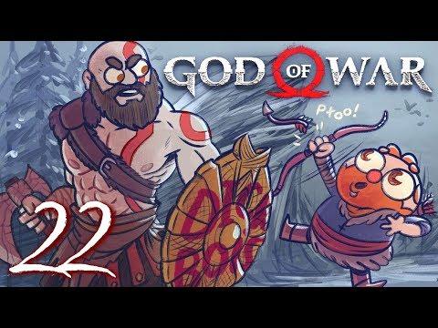 God of War HARD MODE (God of War 4) Part 22 - w/ The Completionist
