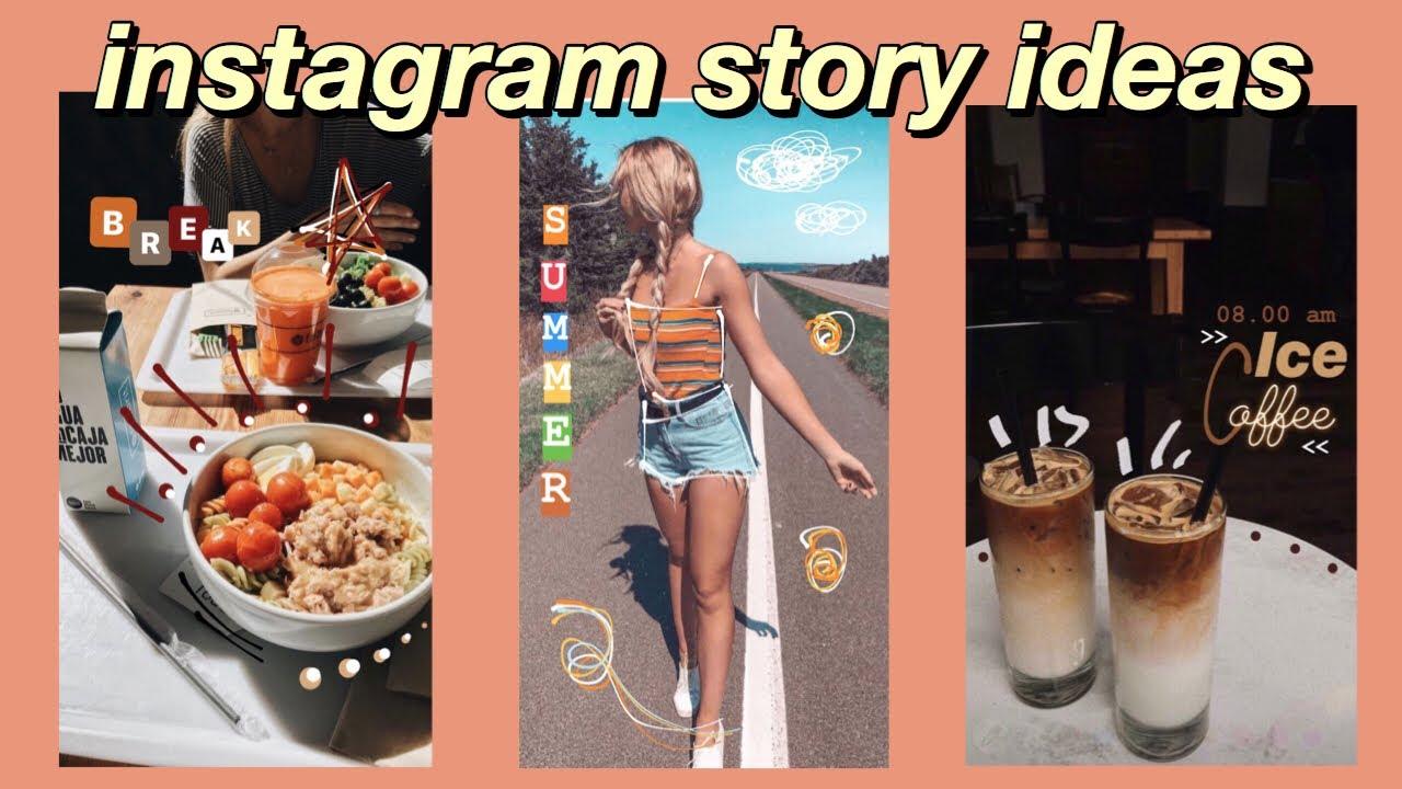 Creative INSTAGRAM story ideas // Aesthetic