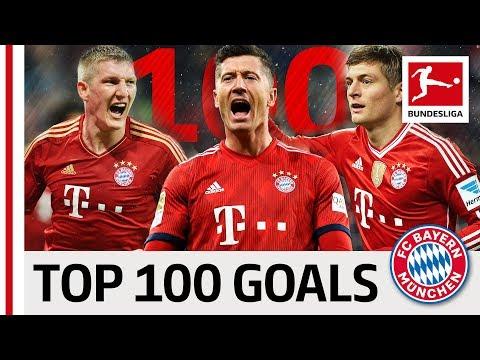 Top 100 Best Goals FC Bayern München - Vote for Lewandowski, Kroos, Müller \u0026 Co.