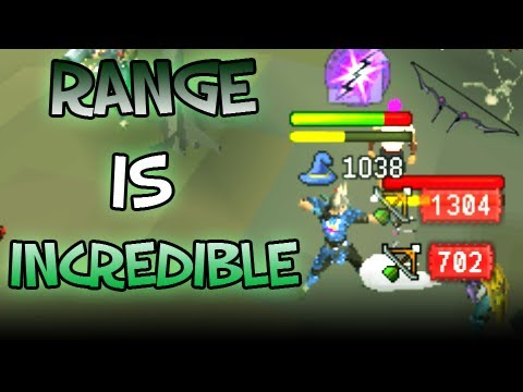 Runescape EoC - Range is Incredible - Zaryte Bow -