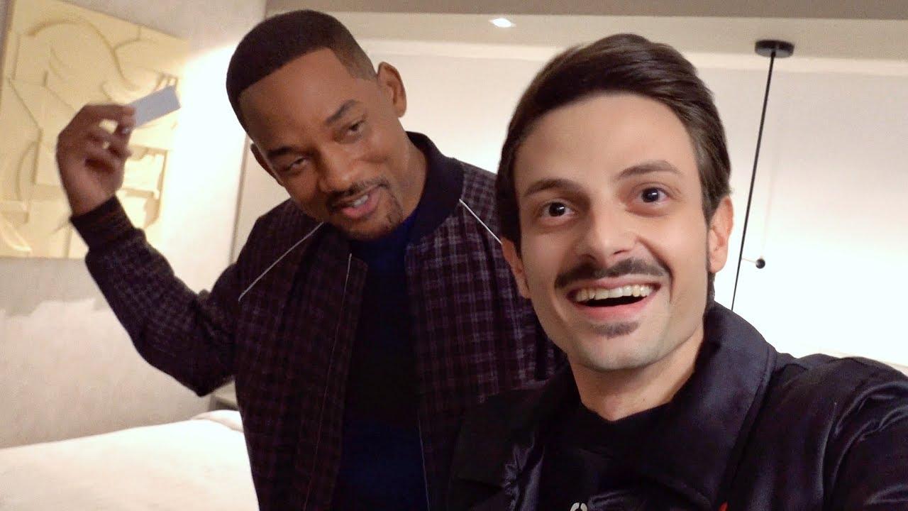 Cosa ci fa Rovazzi in stanza con Will Smith a Budapest?