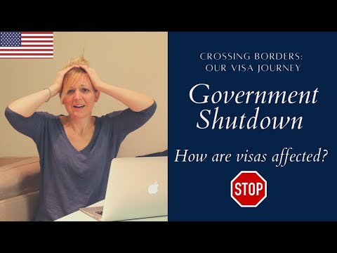 Government Shutdown 2018 How it affects Immigration (USCIS, K1 Visas, AOS, Green Cards)