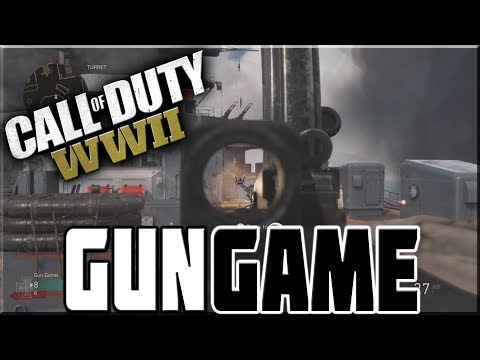 GUN GAME ON CALL OF DUTY WWII!