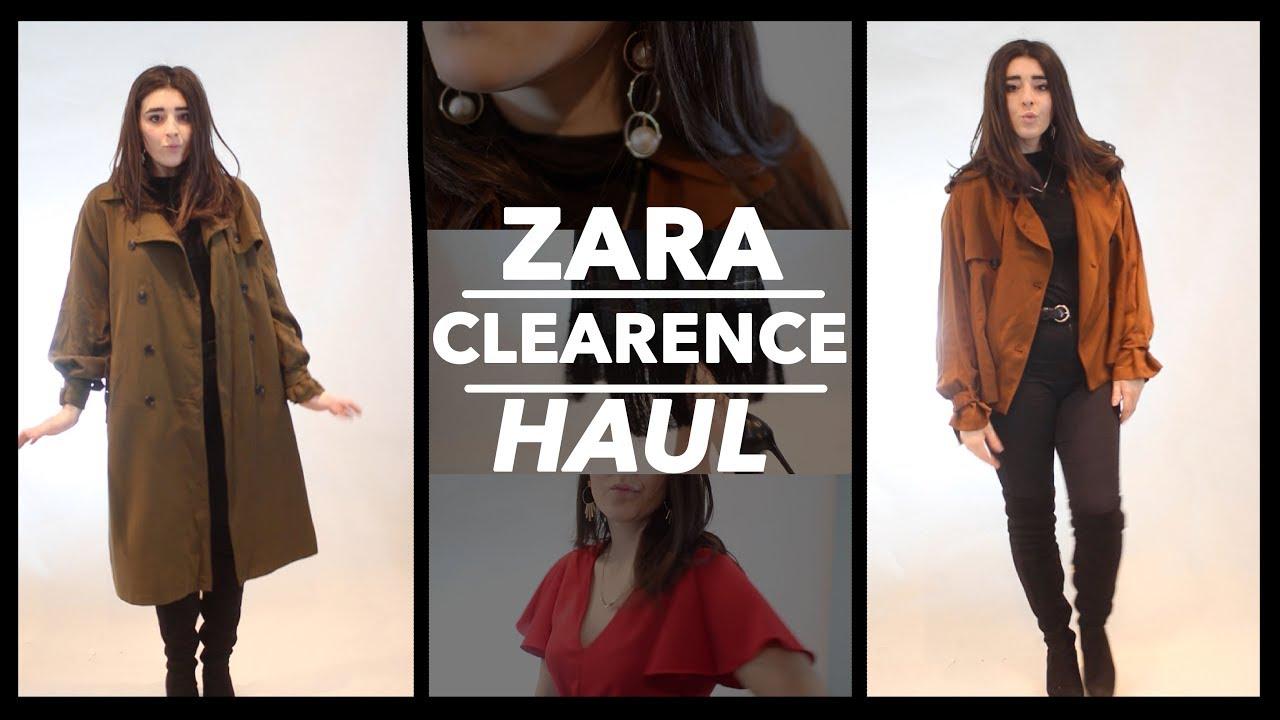 841ce162 ZARA Winter Sale Haul + Try on Lookbook 2018 - YouTube