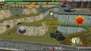 Tanki Online Mission Geralissimio // Recruit - Gernalissimo #1 // Gold-box and Rank up mix