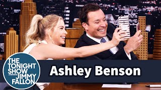 Ashley Benson and Jimmy Snapchat Simultaneously by : The Tonight Show Starring Jimmy Fallon