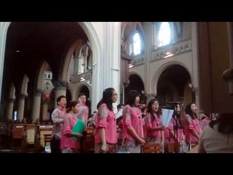St.Lucia Choir Mangga Besar - The Greatest of These is Love -