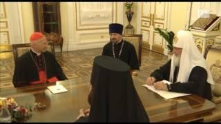 Скачать Встреча Патриарха с губернатором Астраханской обл А А Жилкиным и митрополитом Никоном