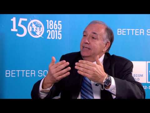 ITU TELECOM WORLD 2015 INTERVIEWS: José M. Toscano, Director General & Chief Executive Officer, ITSO
