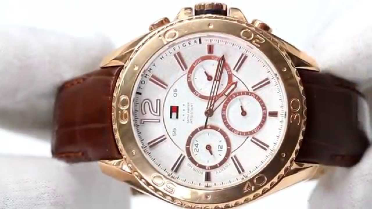 668ba1ec Hands On With The Men's Tommy Hilfiger Watch 1791031 - YouTube