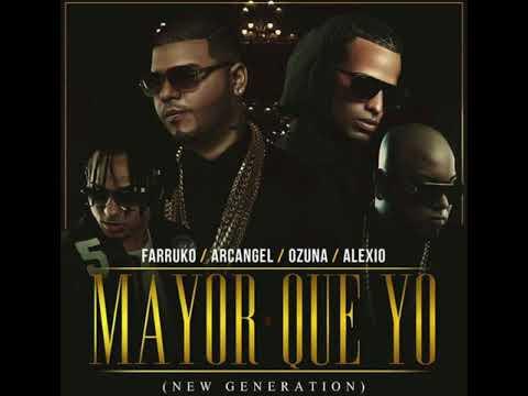 "Mayor Que Yo (New Generation) - Farruko Ft. Ozuna, Arcangel & Alexio ""La Bestia"""
