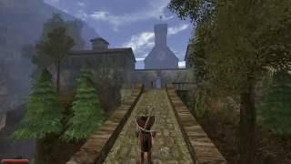 Готика 2: Ночь Ворона. Простой способ попасть в монастырь.