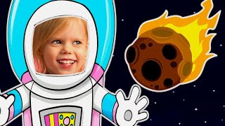 Finger Family Nursery Rhymes | Space Song by Vitalina life