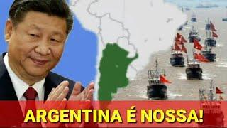 Argentina rejeita ajuda dos EUA para combater navios pesqueiros Chineses