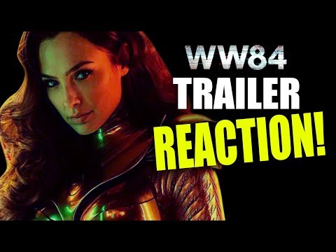 WONDER WOMAN 1984 TRAILER REACTION/BREAKDOWN!