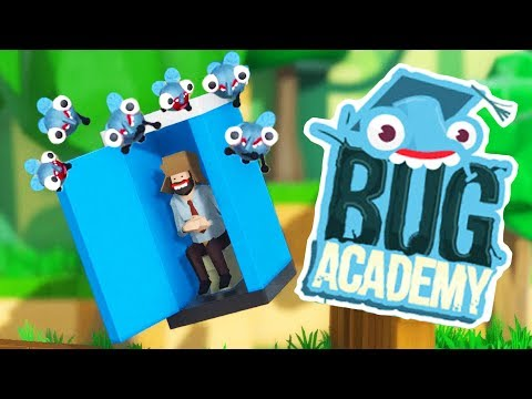 When Super Bugs Steal Everything in Bug Academy