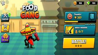 Food Gang -Thử Thách Ko Di Chuyển Mà Vẫn Thắng MOD HACK Noob Pro - Top Game Hay Android, Ios