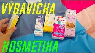 VÝBAVIČKA - základní kosmetika a léky