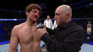 UFC 235: Ben Askren Octagon Interview
