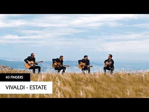 Antonio Vivaldi - Estate (Storm) - 40 FINGERS (Official Video)