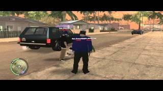 LSRP] Asian Gangster Crips - AKz Robbing Spree