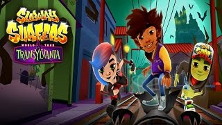 Subway Surfers: Transylvania - Sony Xperia Z2 Gameplay