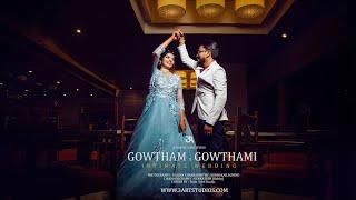 Gowtham ~Gowthami Wedding teaser 2020 |Cinematic wedding highlights  | South Indian Wedding.