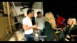 Britney Spears - MTV Making The Video: Me Against The Music [Legendado PT-BR] PARTE 1/2