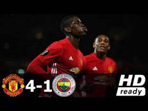 Manchester united vs fenerbahce [4-1] ● uefa europa league 2016-17 ● 20/10/2016