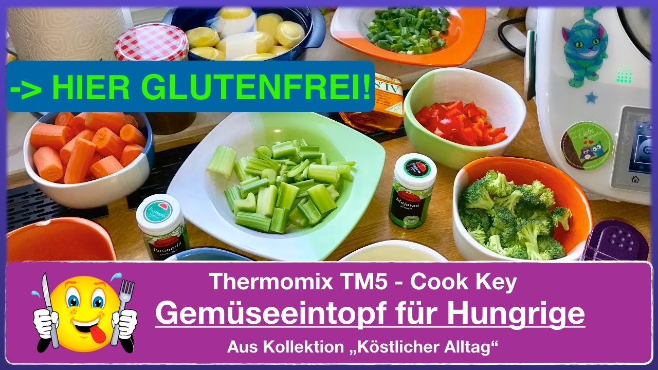 thermomix tm5 cook key gem seeintopf f r hungrige aus kollektion k stlicher alltag youtube. Black Bedroom Furniture Sets. Home Design Ideas