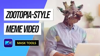 Using Masks to Create Animal Faces | PowerDirector Video Editor App