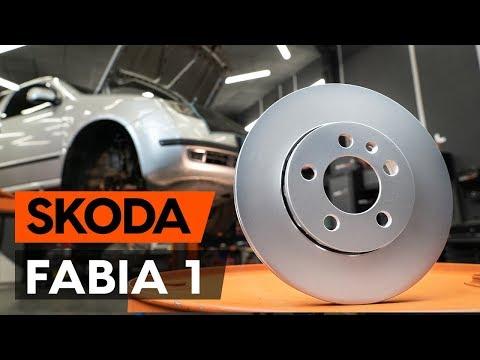 Как заменить передние тормозные диски наSKODA FABIA 1 (6Y5)[ВИДЕОУРОК AUTODOC]