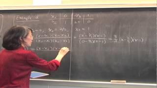 CMPSC/Math 451--Jan 23, 2015. Polynomial interpolation, Lagrange form, Wen Shen
